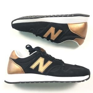 New Balance Walking Sneakers Shoes Bronze Black 7